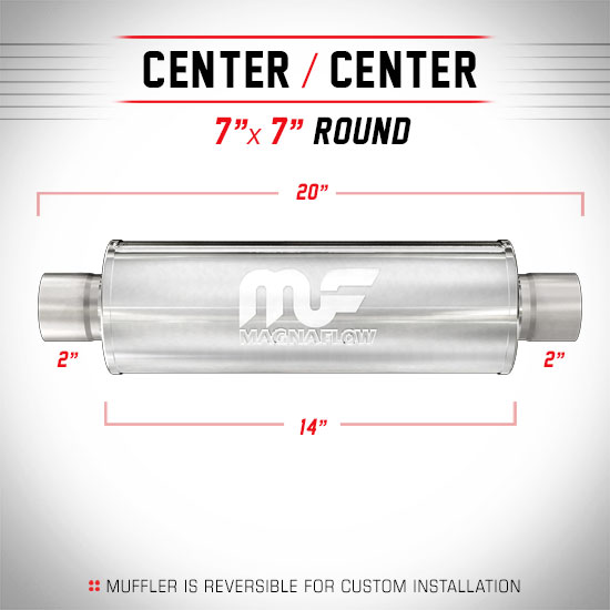 Magnaflow 14714_Polished Stainless Muffler