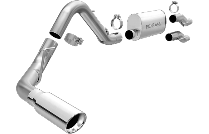 Magnaflow 15000 | Ford F150 | 3.7.5.0,6.2 | Extended Cab/Crew Cab | Stainless Cat-Back Single Exit Performance Exhaust System