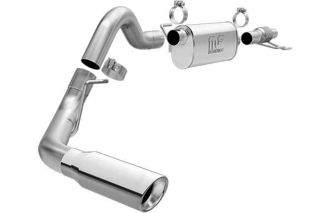 Magnaflow 15458_Ford F150(3.5 Turbo) Extended Cab/Crew Cab Single Performance Exhaust System