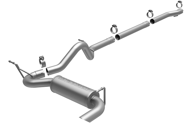Magnaflow 16391_Jeep Wrangler Competition Series ( Unlimited) Performance Exhaust System