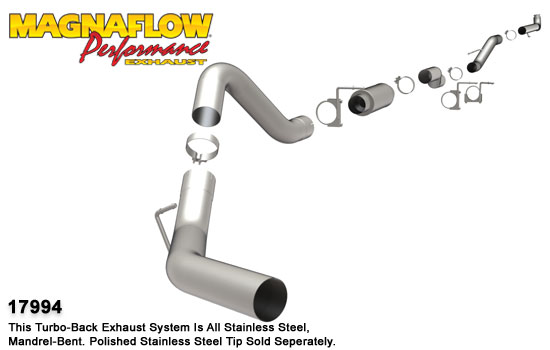 Magnaflow 17994_Chevrolet Diesel Performance Exhaust System