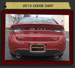 Magnaflow 15181_2013 Dodge Dart Performance Exhaust System