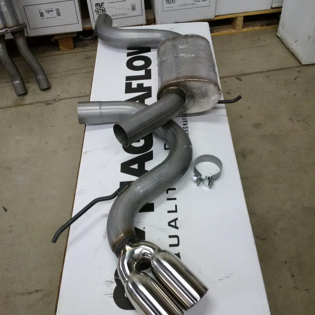 "2005-2009 VW GTI V 2.0L Turbo, (3"" or 2.5"")Turbo Back System Hottexhaust 10388"