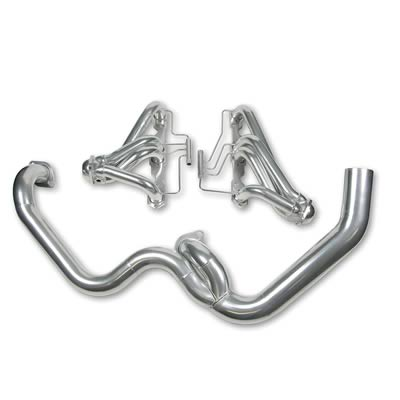 Hooker Street Force Headers 2055-1HKR 1986-1990 Camaro,Firebird, 305,350 Ceramic Coated Shorty Headers with Y-Pipe