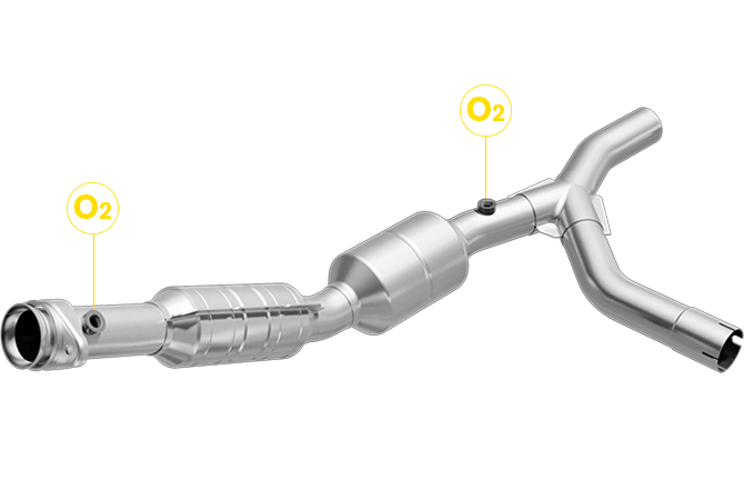 Magnaflow 558310 | FORD E-150/E-250 | 4.6L | Passenger Side | Catalytic Converter-Direct Fit | California Legal | EO# D-193-128