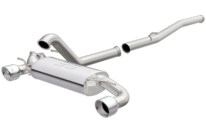 Focus RS cat-back stainless exhaust | Magnaflow 19281