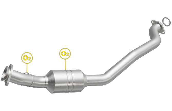 DODGE DURANGO, JEEP GRAND CHEROKEE | 5.7L | Driver Side | Catalytic Converter-Direct Fit | OEM Grade EPA