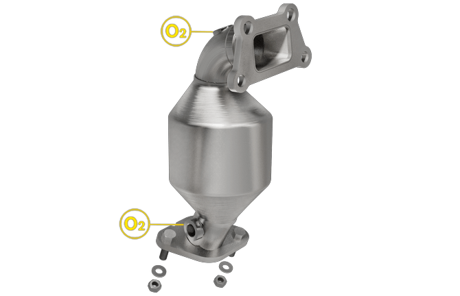 Magnaflow 52594 | Buick Lacrosse | 3.6L | Front Driver Side- BANK 2 | FWD only | PZEV only | Direct-Fit OEM Grade Catalytic Converter Federal (Exc.CA)
