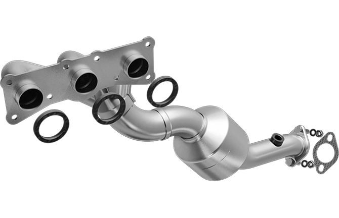 Magnaflow 553718 | BMW Z4 | 3.0L | Front | Exhaust Manifold With Integrated Catalytic Converter | California Certified/Legal