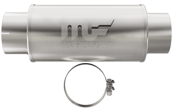 "Magnaflow 12776 | Satin Stainless Muffler | 5"" inlet/outlet 