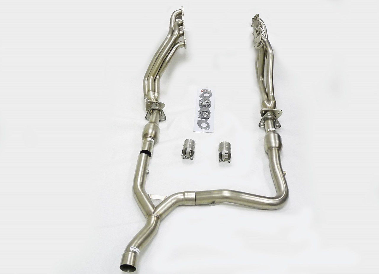 Dodge Ram 2004-2005 2WD 5.7L Hemi Long Tube Stainless Headers with Y pipe