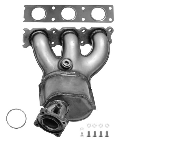 Volvo XC90 | 3 2L | Driver Side (Bank 2) | Exhaust Manifold With Integrated  Catalytic Converter OEM Grade Federal (Exc CA)