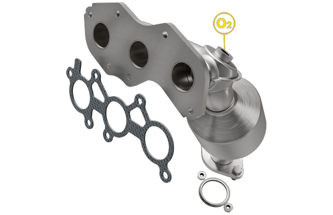 Magnaflow 5531693 | Toyota Avalon | 3.5L | Rear Exhaust Manifold | Direct-Fit California Legal Catalytic Converter | EO# D-193-137