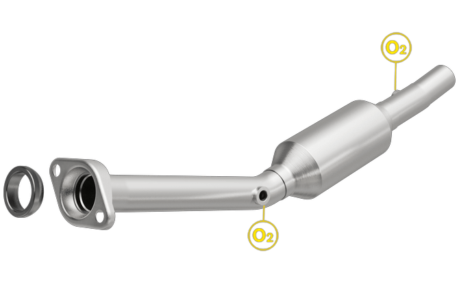 Magnaflow 4481182 | Scion XA | Toyota Echo | 1.5L | Direct-Fit California Legal Catalytic Converter OBDII | EO# D-193-139