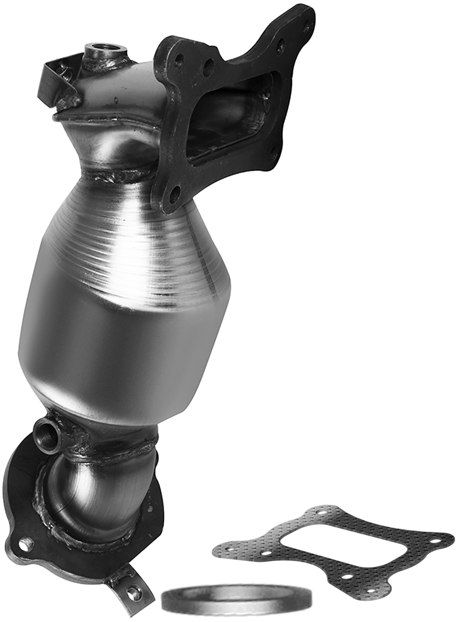 Httx 88851441 | 2008-2012 | ACURA TSX, HONDA ACCORD | 2.4L | Front-Bank 1 | Automatic Trans | Catalytic Converter-Direct Fit | OEM Grade EPA