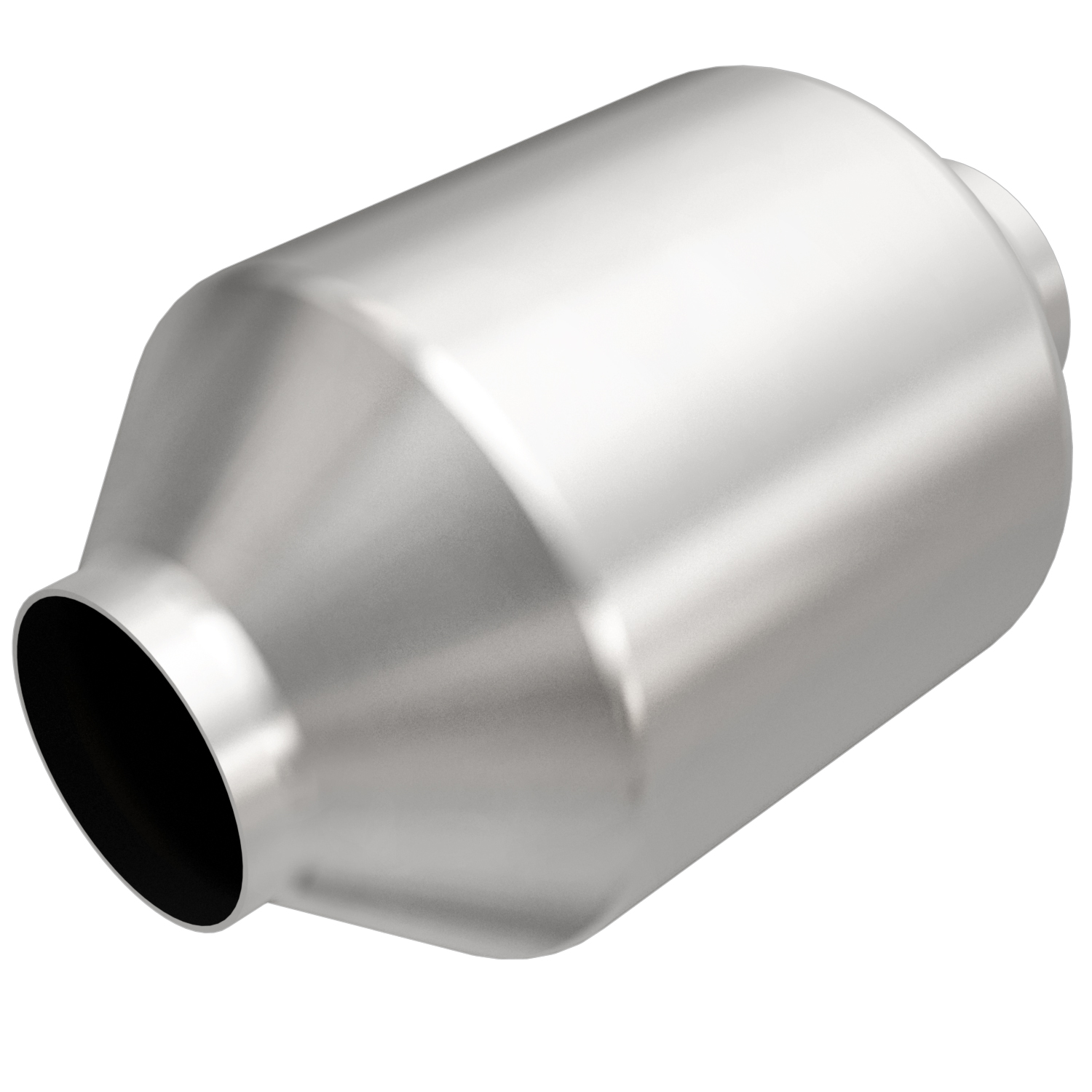 """Magnaflow 5551205   2.25"""" in/out   5"""" Round Body   9.03"""" Body Length   Universal-Weld In   California + NY Legal Catalytic Converter   EO D-193-141"""