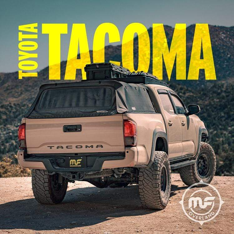 Magnaflow 19583 | Toyota Tacoma |  Overland Series | Crew Cab-60.5 inch Bed, Ext. Cab-73.7 inch Bed | Stainless Cat-Back | Performance Exhaust System-Taco