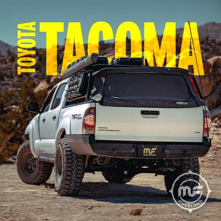 Magnaflow 19585 | Toyota Tacoma  | Overland Series | Stainless Cat-Back  Performance Exhaust System-truck