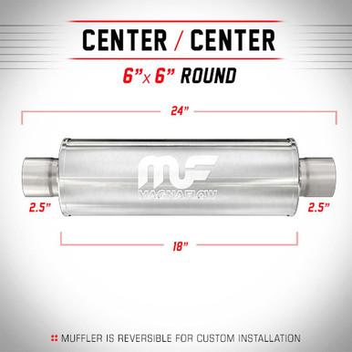 Magnaflow   Muffler  12646