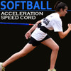 Acceleration Speed Cord is ideal for Softball and Baseball Speed Training.
