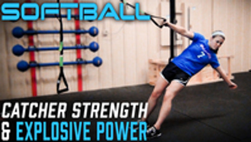 Softball Catcher Strength and explosive power training