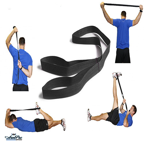 Great for stretching your rotator cuff or legs and glutes during practice or before game time.
