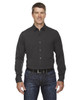 Carbon Heather - 88802 Ash City - North End Sport Blue Central Ave Mélange Performance Shirt | Blankclothing.ca