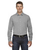 Light Heather - 88802 Ash City - North End Sport Blue Central Ave Mélange Performance Shirt | Blankclothing.ca