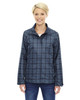 Night - 78671 North End Sport Blue Locale Lightweight City Plaid Jacket | Blankclothing.ca