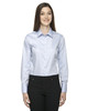 78673 North End Sport Blue Boulevard Wrinkle-Free Cotton Dobby Taped Shirt with Oxford Twill   Blankclothing.ca