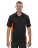 Black/Orange - 87042T North End Tall Fuse Colourblock Twill Shirt | Blankclothing.ca