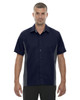 Classic Navy - 87042T North End Tall Fuse Colourblock Twill Shirt | Blankclothing.ca