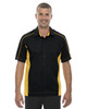 Blk/Cmps Gld - 87042T North End Tall Fuse Colourblock Twill Shirt | Blankclothing.ca