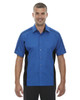 True Royal - 87042T North End Tall Fuse Colourblock Twill Shirt | Blankclothing.ca