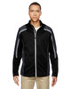 Black - 88201 North End Men's Strike Colorblock Fleece Jacket | Blankclothing.ca