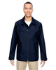 Navy 88218 North End Excursion Ambassador Lightweight Jacket with Fold Down Collar | Blankclothing.ca