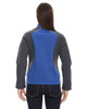 Nautical Blue - Back,  78176 North End Terrain Colourblock Soft Shell Jacket with Embossed Print | Blankclothing.ca