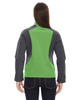 Valley Green - Back,  78176 North End Terrain Colourblock Soft Shell Jacket with Embossed Print | Blankclothing.ca