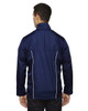 Classic Navy-back 88188 North End Lightweight Recycled Polyester Jacket with Embossed Print | Blankclothing.ca