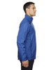 Nautical Blue-side 88188 North End Lightweight Recycled Polyester Jacket with Embossed Print | Blankclothing.ca