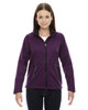 Mulberry Purple 78655 North End Sport Red Splice Three-Layer Light Bonded Soft Shell Jacket