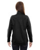 Black-back 78655 North End Sport Red Splice Three-Layer Light Bonded Soft Shell Jacket