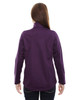 Mulberry Purple-back 78655 North End Sport Red Splice Three-Layer Light Bonded Soft Shell Jacket
