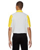 Banana Yellow-back 88691 North End Sport Red Reflex UTK Performance Embossed Print Polo Shirt