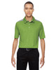 Green Flash - 88691 North End Sport Red Reflex UTK Performance Embossed Print Polo Shirt