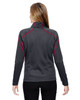 Carbon/Olympic Red-back 78806 North End Sport Red Interactive Cadence Two-Tone Brush Back Jacket
