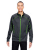 Carbon/Acid Green - 88806 North End Sport Red Interactive Cadence Two-Tone Brush Back Jacket