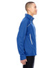 Nautical Blue-side 88806 North End Sport Red Interactive Cadence Two-Tone Brush Back Jacket