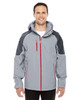 Platinum/Carbon - 88808 North End Sport Red Impulse Interactive Seam-Sealed Shell Jacket