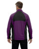 Mulberry Purple-back 88656 North End Sport Red Laminated Performance Stretch Wind Shirt